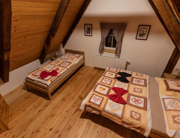 Pokoj v penzionu Chata Rychtářka