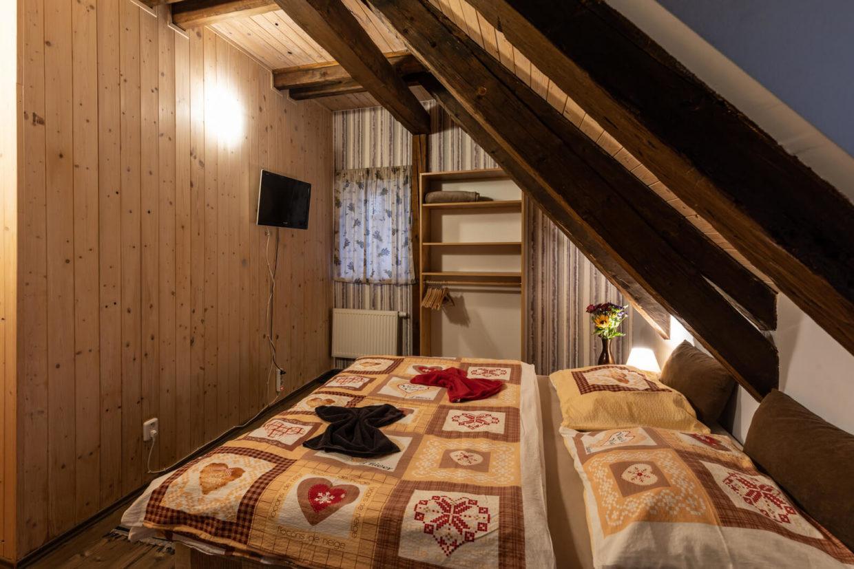 Dvoulůžkový pokoj Chata Rychtářka