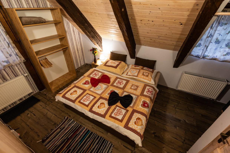 Dvoulůžkový pokoj Chata Rychtářka pro páry a rodiny