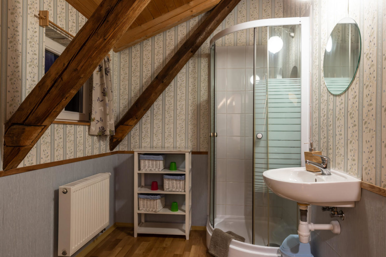 Rodinný pokoj Chata Rychtářka koupelna